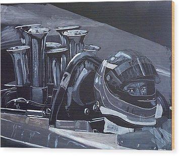 Bruce Mclaren Canam Wood Print