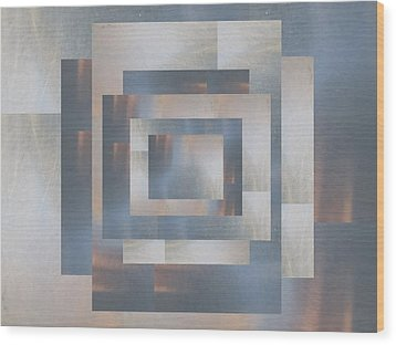Brushed 23 Wood Print by Tim Allen