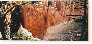 Wood Print featuring the photograph Bryce Canyon by Fred Wilson