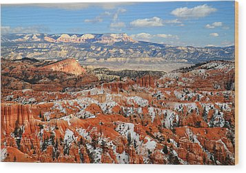 Bryce Canyon Sinking Ship Wood Print by Pierre Leclerc Photography