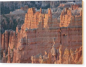 Wood Print featuring the photograph Bryce Canyon Sunrise 2016a by Bruce Gourley