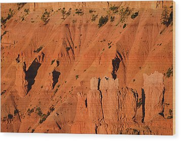 Wood Print featuring the photograph Bryce Canyon Sunrise 2016b by Bruce Gourley