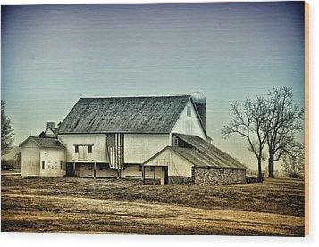 Bucks County Farm Wood Print by Bill Cannon