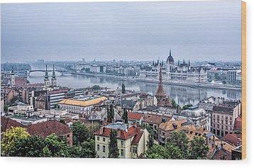 Budapest The Hidden Treasure Chest Wood Print