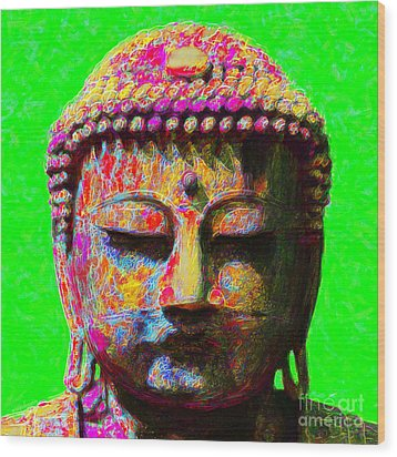 Buddha 20130130m100 Wood Print by Wingsdomain Art and Photography