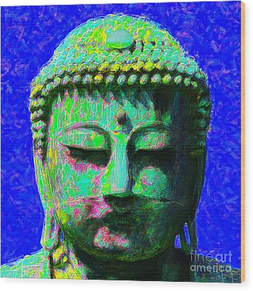 Buddha 20130130p18 Wood Print by Wingsdomain Art and Photography