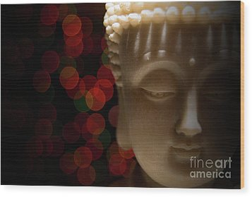 Wood Print featuring the photograph Buddha by Brian Jones