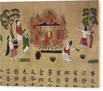 Buddha Wood Print by Granger