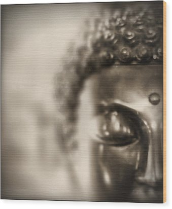 Wood Print featuring the photograph Buddha Thoughts by Douglas MooreZart