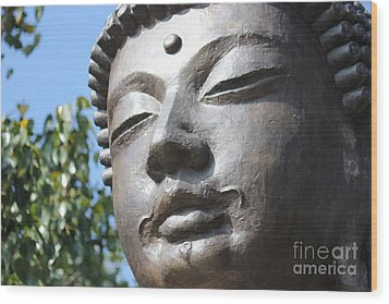 Wood Print featuring the photograph Buddha by Wilko Van de Kamp