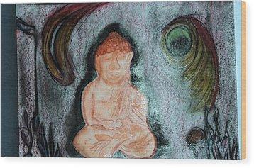 Budita Wood Print by Kasper Castillo