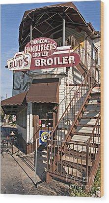 Bud's Broiler New Orleans Wood Print