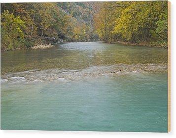 Buffalo River - 4589 Wood Print