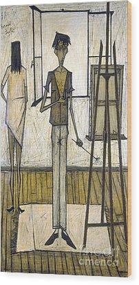 Buffet: Artist, 1948 Wood Print by Granger