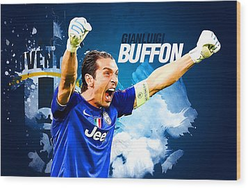 Buffon Wood Print