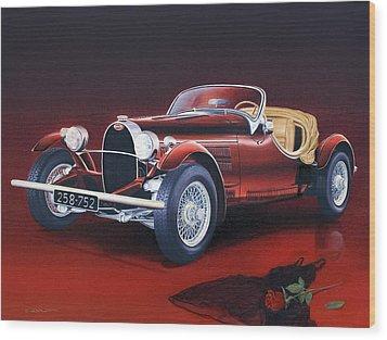Bugatti. Italian Exotic Car Wood Print