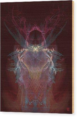 Bugei 01-le Wood Print by Yoroshii Minamoto - C G Rhine
