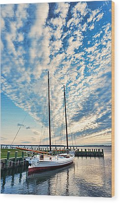 Bugeye - Chesapeake Maritime Museum Wood Print