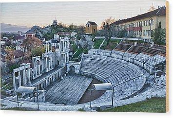 Bulgaria Theater Wood Print