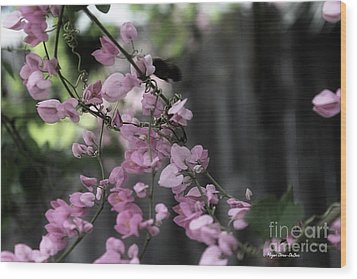 Wood Print featuring the photograph Bumble by Megan Dirsa-DuBois
