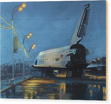 Buran Wood Print by Simon Kregar