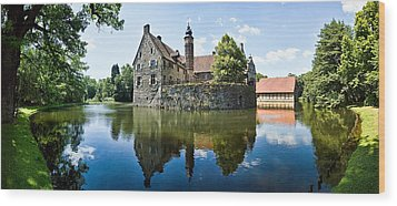Burg Vischering Wood Print