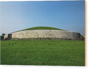 Burial Mound Wood Print
