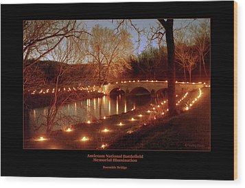 Burnside Bridge 96 Wood Print