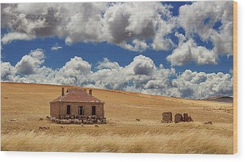 Wood Print featuring the photograph Burra by Tim Nichols