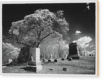 Bury Me Under A Tree Wood Print by John Rizzuto