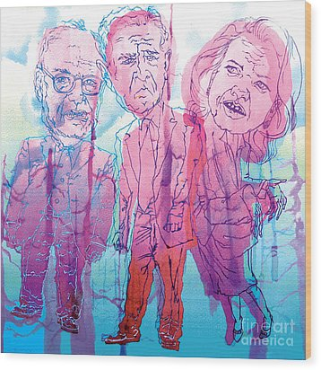 Bush Administration 2008 Wood Print