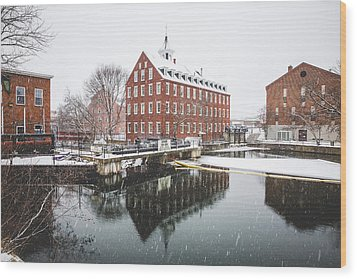 Wood Print featuring the photograph Busiel-seeburg Mill by Robert Clifford