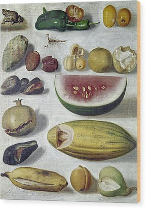 Bustos: Still Life, 1874 Wood Print by Granger