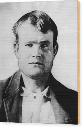 Butch Cassidy, Circa 1890 Wood Print by Everett
