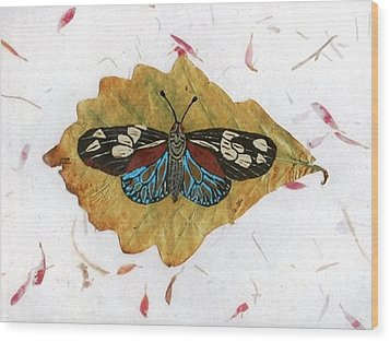 Butterfly #2 Wood Print