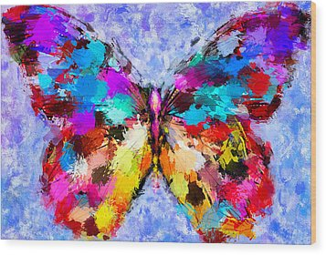 Butterfly 2 Wood Print by Yury Malkov