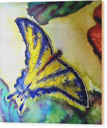 Butterfly Wood Print by Beverly Johnson