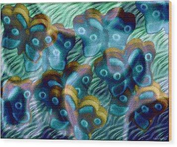 Butterfly Dreams II Wood Print by Shelly Stallings