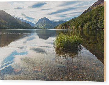 Buttermere Dawn Wood Print