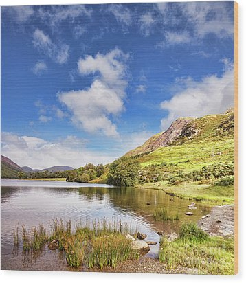 Wood Print featuring the photograph Buttermere, English Lake District by Colin and Linda McKie