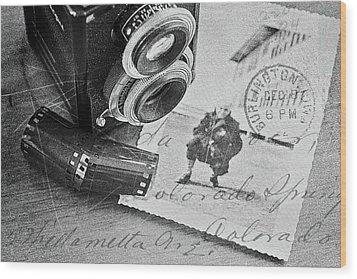 Bygone Memories Wood Print