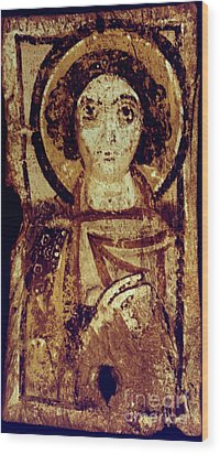 Byzantine Icon Wood Print by Granger