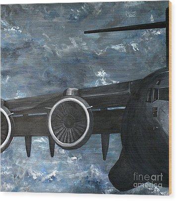 C-17 Globemaster IIi- Panel 2 Wood Print