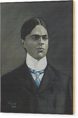 C. Harold Gaffin Wood Print