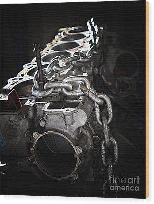 c35 Wood Print