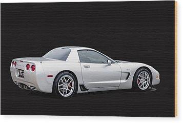 C6 Corvette Wood Print