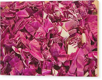 Cabbage 639 Wood Print
