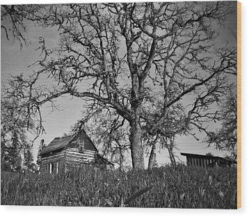 Cabin Wood Print