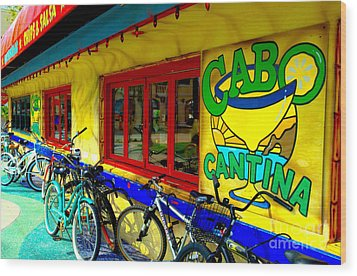 Cabo Cantina - Balboa Wood Print