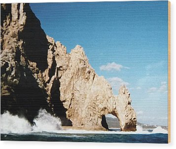 Cabo San Lucas Arch Wood Print by Will Borden